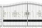Эскиз кованых ворот №819