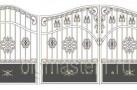 Эскиз кованых ворот №820