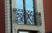 Кованый балкон - французский стиль