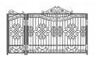 Эскиз кованых ворот №839
