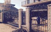 Калитка и ворота ковка. Частный дом.