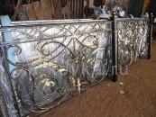 Кованые перила произведенные на заказ