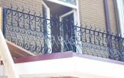 Балкон кованый в частном доме