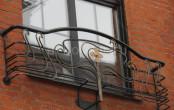 Французский кованый балкончик