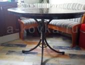 Столик кованый для кухни