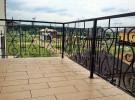 Ограждение кованое балконное, загородный дом
