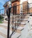 Перила кованые лестница на терассу