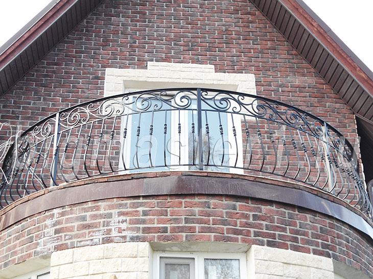 Полукруглый балкон своими руками