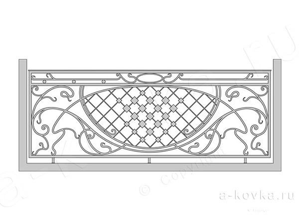 Эскизы балконов