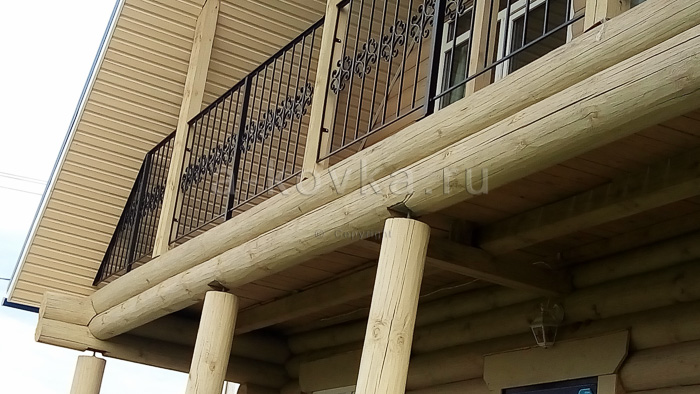 Балконы кованые изготовление, балконные ограждения, перила ц.