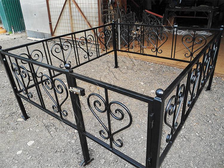 Заказать ограду на кладбище плитка на кладбище фото