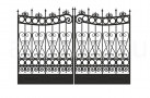 Эскиз кованых ворот №847