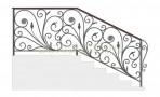 Эскиз кованых перил №722