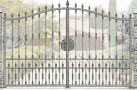 Эскиз кованых ворот №814