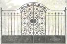 Эскиз кованых ворот №816