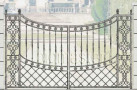 Эскиз кованых ворот №817