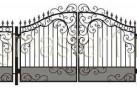 Эскиз кованых ворот №818