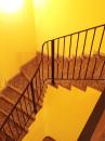 Радиусные кованые перила на лестницу
