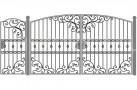 Эскиз кованых ворот №850