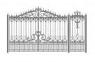 Эскиз кованых ворот №828
