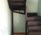 Металическая лестница под заливку бетоном