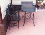 Дачная кованая мебель