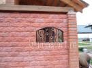 Решетка кованая, на окне