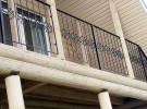 Ограждение кованое балконное