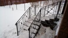 Перила для лестницы кованые