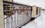 Откатные ворота ручной ковки
