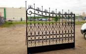Кованые ворота секция