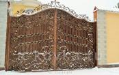 Ворота ковка на заказ для частного загородного дома