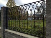 Забор кованый, производство на заказ