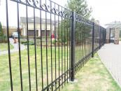 Легкий кованый забор