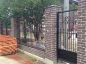 Забор ручной ковки