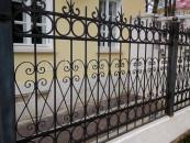 Забор ручной ковки загородный
