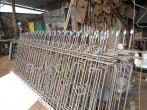 Производство кованого забора в кузнице