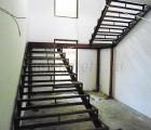 Лестница металлическая поворотная