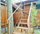 Лестница металлическая на крышу