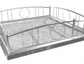 Ограда для кладбища ковка 335