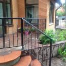 Перила кованые - терраса, крыльцо загородного дома
