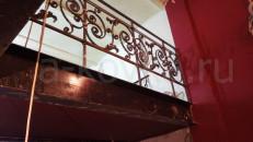 Реставрация кованых старинных перил ограждений