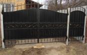 Ворота и калитка ковка