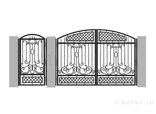 Эскизы ворот